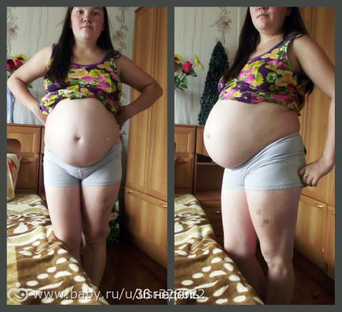 Как чувствовали себя на 36 неделе беременности