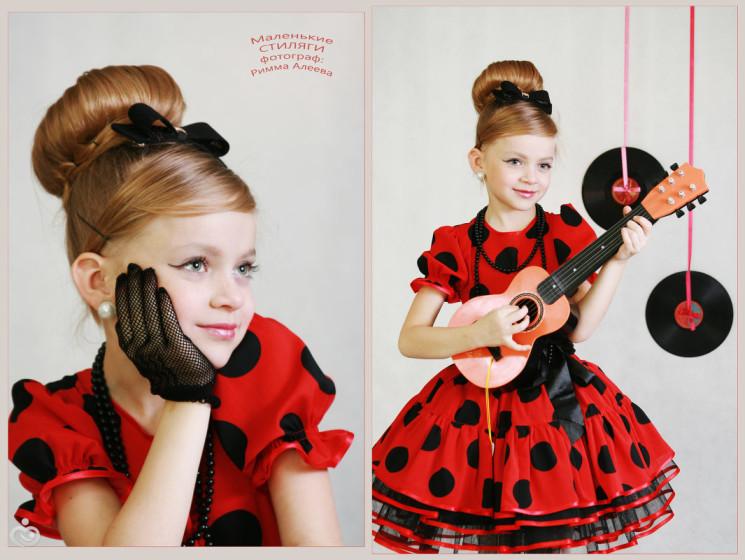 Детские платья в стиле ретро