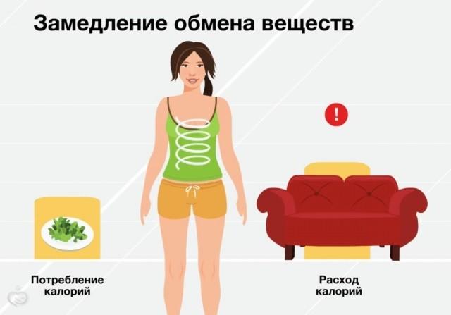 Как замедлить обмен веществ чтобы похудеть