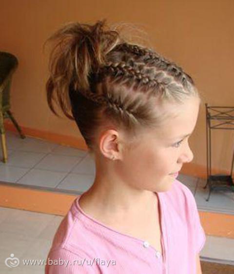 Прически в школу для подростков на короткие волосы