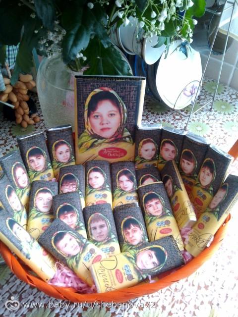 Фото подарок учителю на день рождения