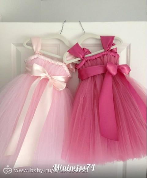 Как сшить платье своими руками с фатина