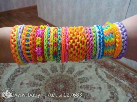 Плетение с рагаткой