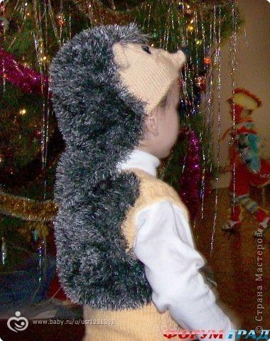 Карнавальный костюм ёжика своими руками