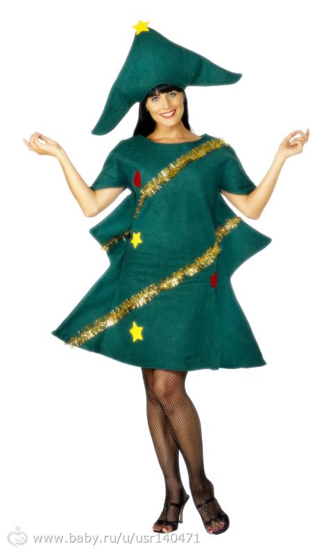 Новогодний костюмы для женщины своими руками