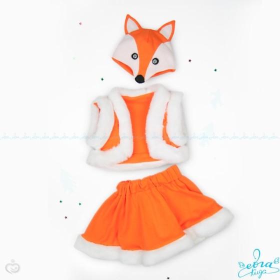 Костюм лисы на девочку своими руками выкройки