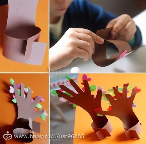 Красивые несложные поделки своими руками из бумаги