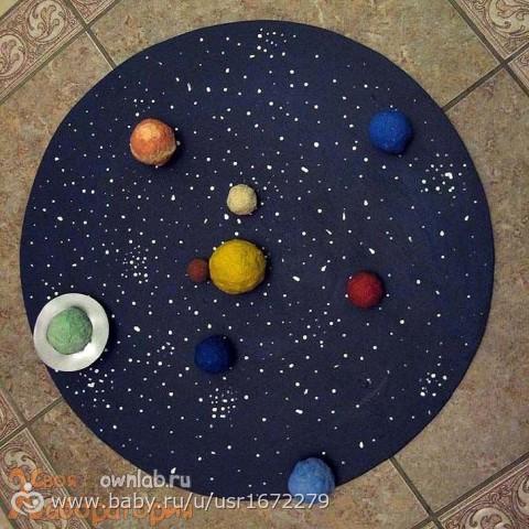 Как сделать поделку моя планета