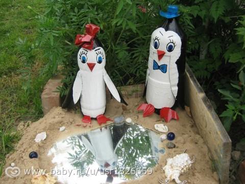 Пластиковые бутылки поделки своими руками с фото для сада и огорода
