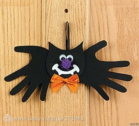 Поделки своими руками на хэллоуин из бумаги