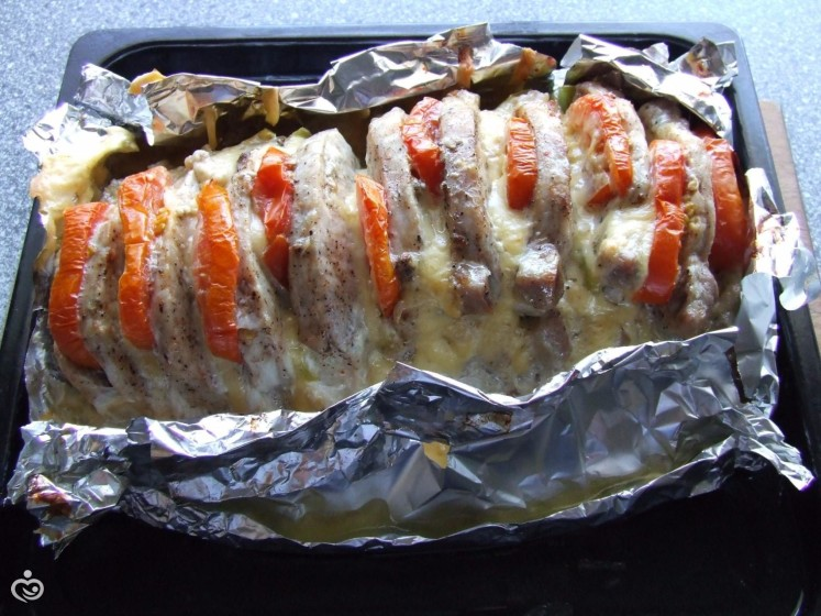 В фольге запечь говядину в духовке с фото пошагово в