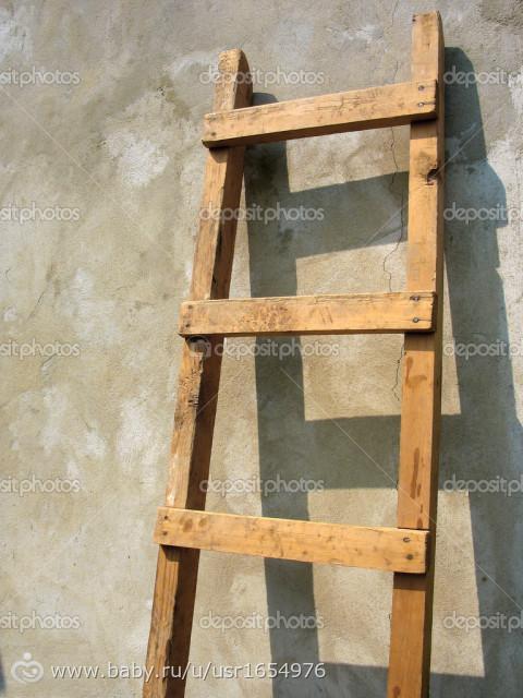 Декоративные лесенки деревянные своими руками