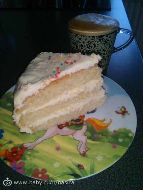 пломбирный крем для торта рецепт с фото