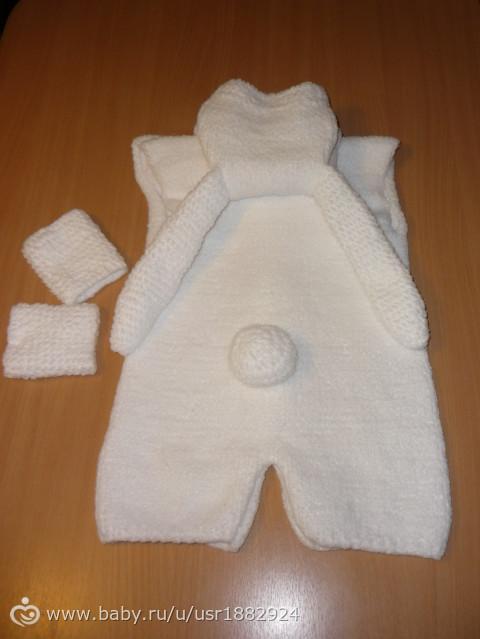 Вязаный маникюр свитер фото