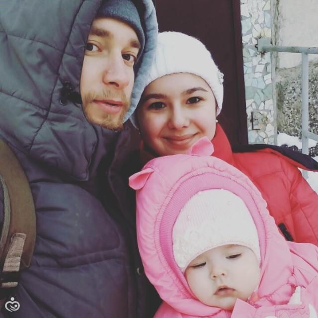 Вся семья на прогулке 😆