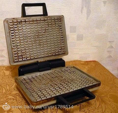 Рецепт вафли для советской вафельницы