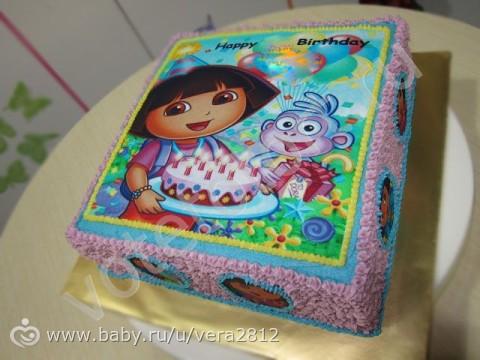 Торт дашенька с фото