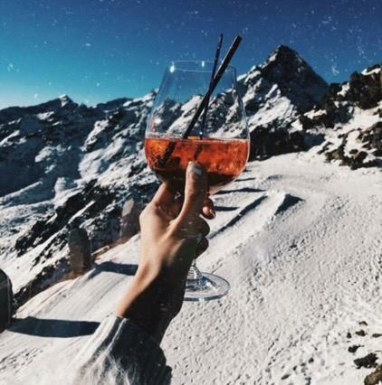 Привет из Альп 🙌🏽