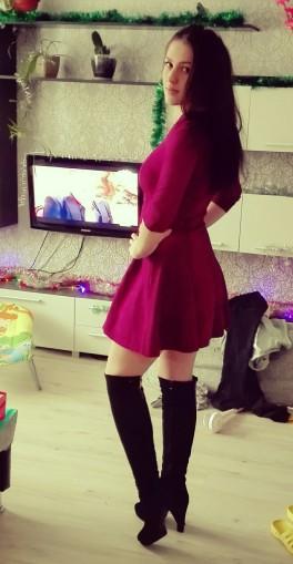 Девочки как вам платье? И сапоги
