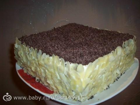 Рецепт торта со сладким крекером.фото