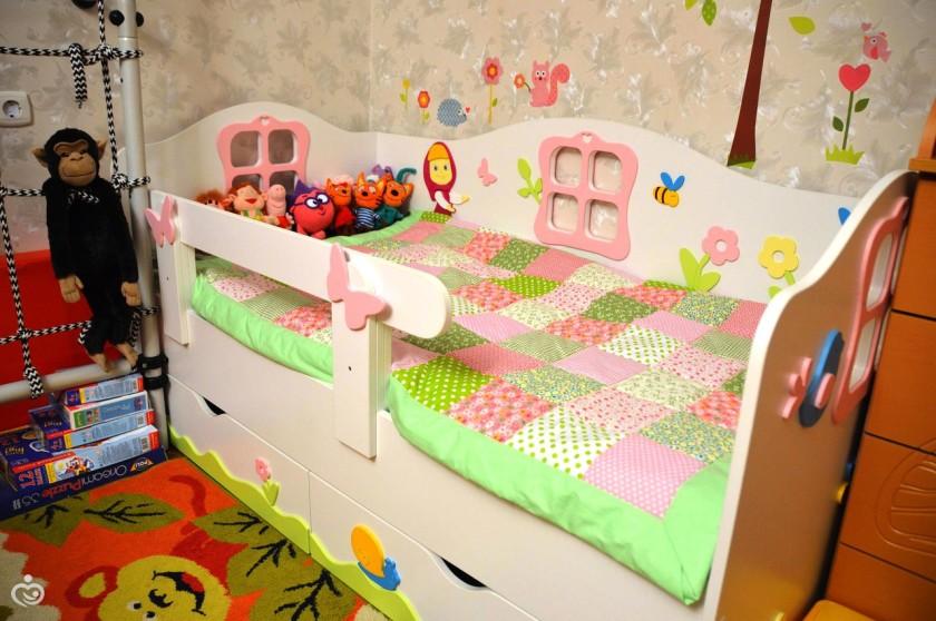 Детская кроватка от 3 лет