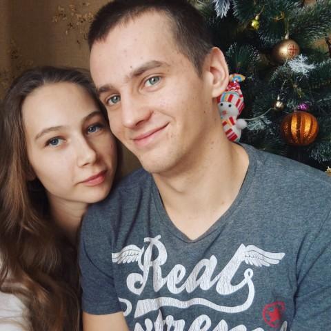 Мой любимый приехал ))