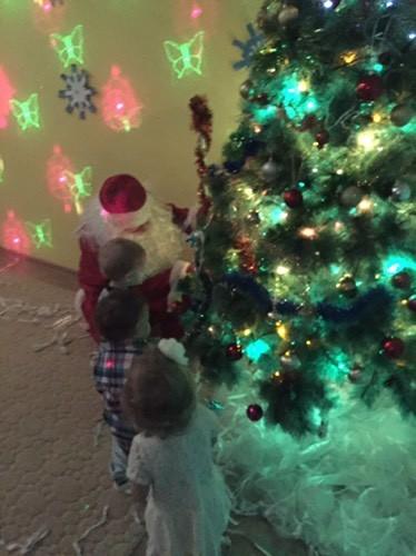 Первый Сознательный Дед Мороз!))