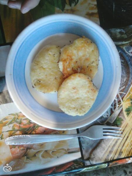 Сырники с кокосовой стружкой.