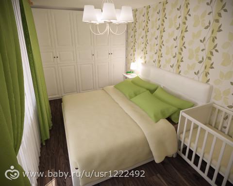 Фото дизайн спальни 5 м. кв.