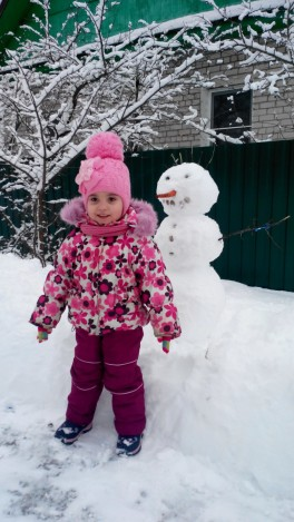 Настасья и снежная баба