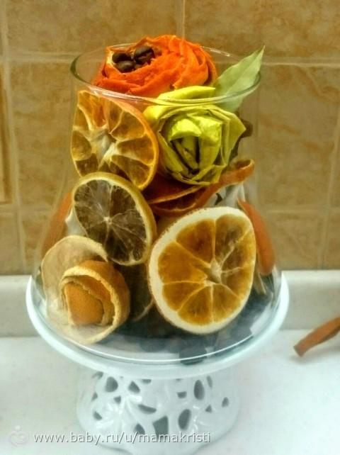 Натуральные вкусняшки для декора.