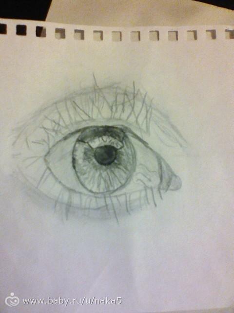 Рисунки дочери....моя художница.