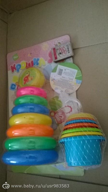 Какие игрушки нужны малышу до года?