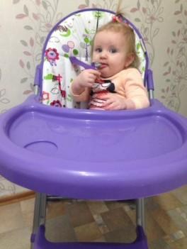Проект 365 дней. День 4. Новый стульчик,догонялки и мыльные пузыри