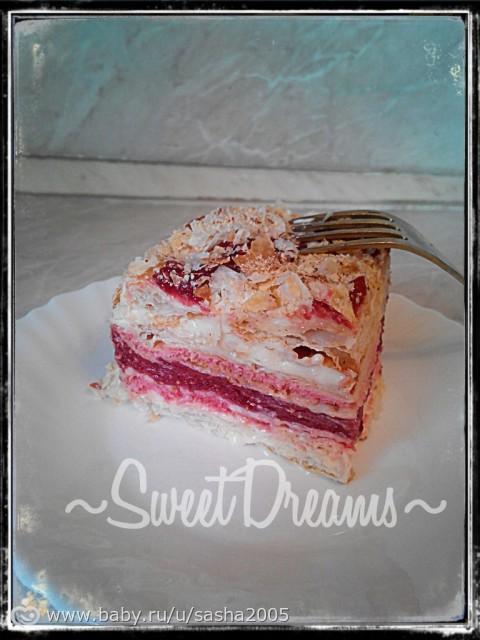малиновый торт от палыча рецепт с фото