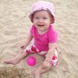 Евочка на пляже
