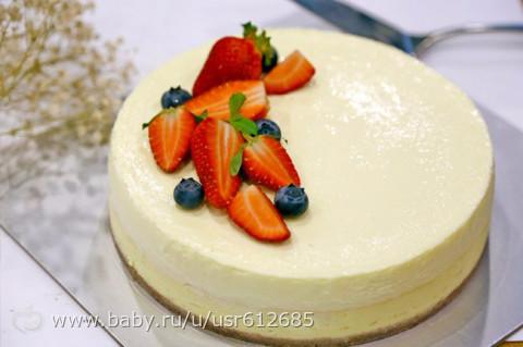 Диетические десерты торты с фото