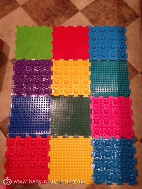 Массажный коврик » Сделай сам своими руками - поделки