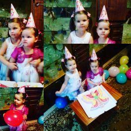 День рождение!!! Самирочке 3 годика.